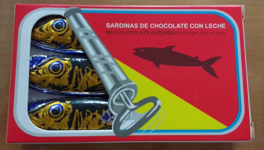 イワシのチョコレート