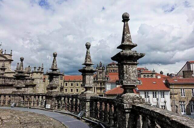 Catedral de Santiago, roof