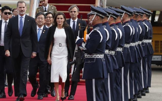 2019年韓国滞在時のレティシア王妃