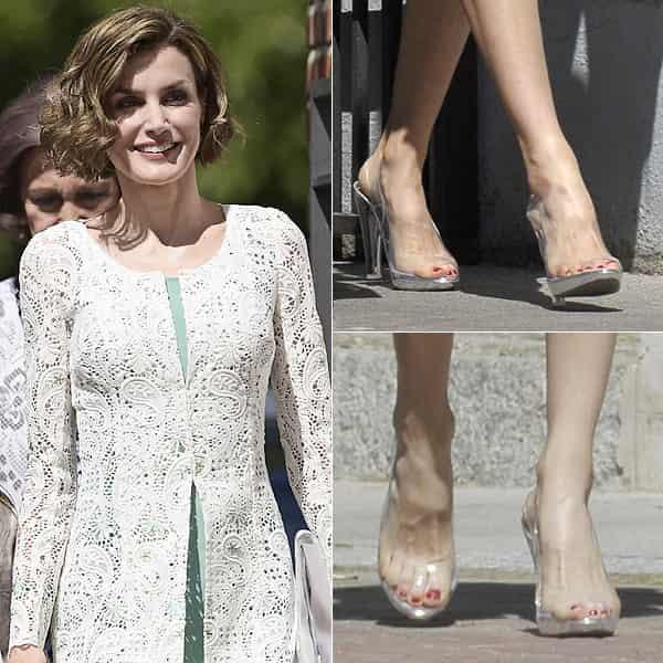 レティシア王妃とMagridの靴