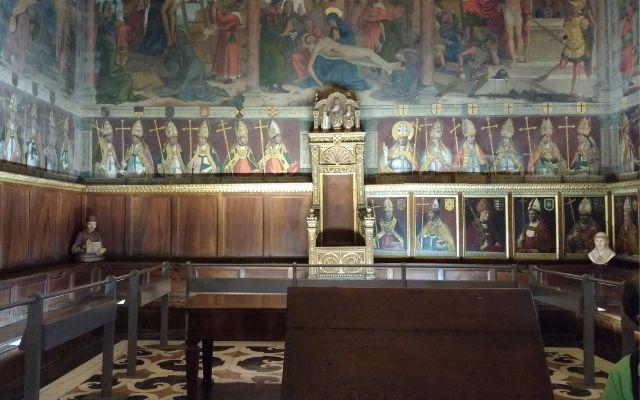 トレド大聖堂の参事会会議室