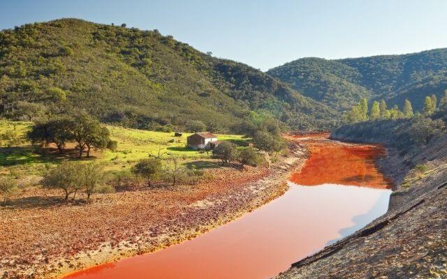 ウエルバ県のリオ・ティント鉱山
