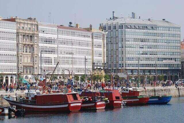 Coruña, galerias