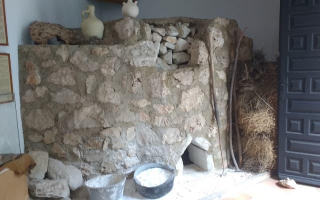 ミハスの郷土資料館にあるカレラ