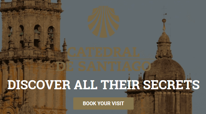 大聖堂公式サイトの画面