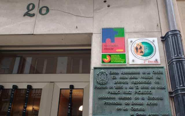ピカソの初個展場所レアル通り20番地