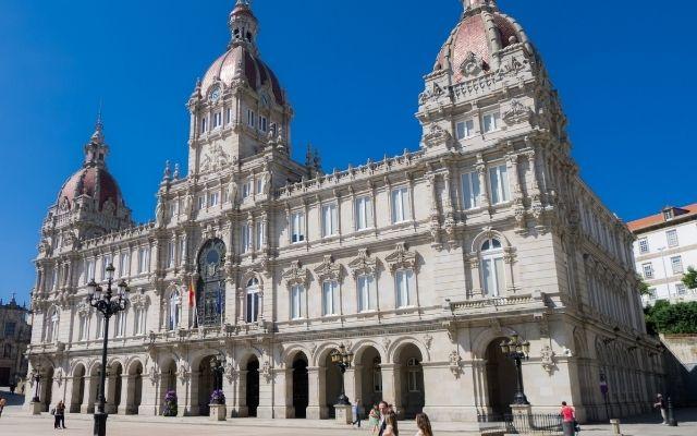 コルーニャの市役所