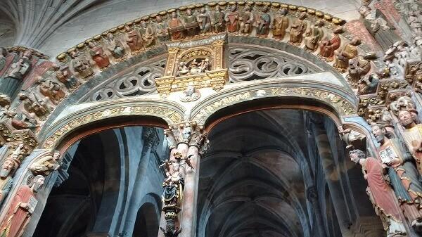 Portico de la gloria de la catedral de Ourense