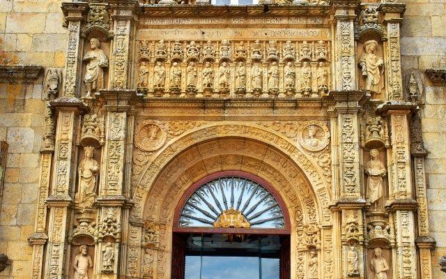 サンティアゴのパラドール入口