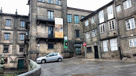 サン・マルティン・ピナリオ修道院入り口