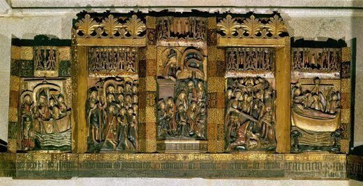聖ヤコブの人生を描いたレタブロ