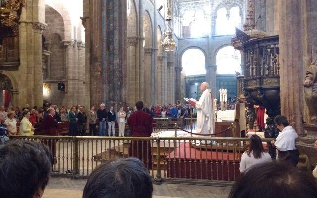サンティアゴ大聖堂巡礼者のミサ