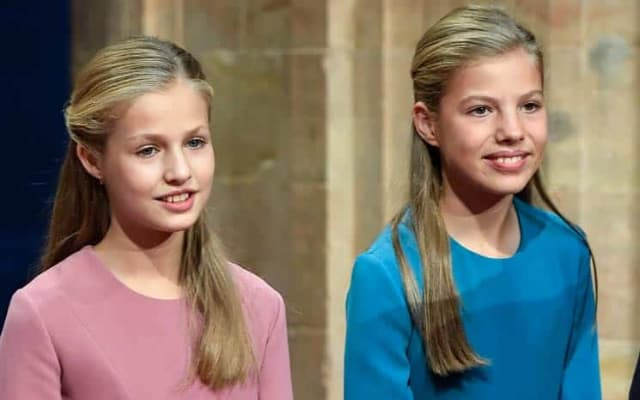 スペイン王女レオノールとソフィア