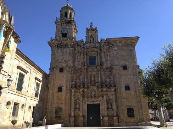 サン・サルバドール修道院正門