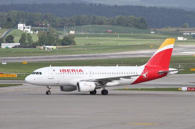 Iberia express plane