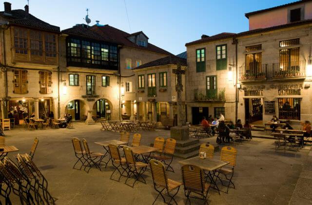 ポンテべドラ旧市街
