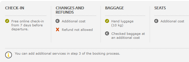 Vueling ticket conditions