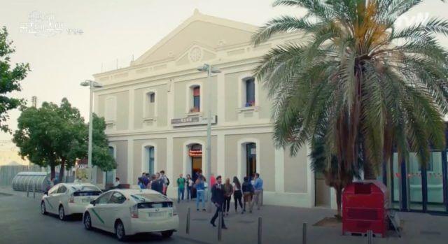 アルハンブラ宮殿の思い出グラナダ駅の撮影場所