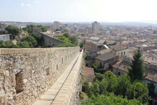 ジローナの城壁