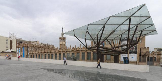 Centro Cultural Caixa Forum Barcelona / Arata Isozak