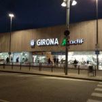 ジローナの列車の駅
