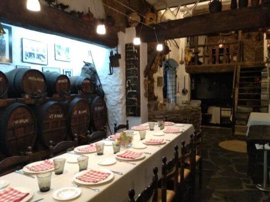 ドゥランレストランのCeller de Ca La Teta