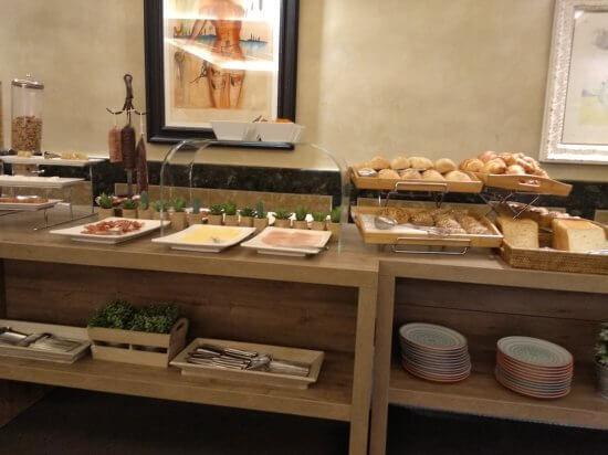 ホテル ドゥランの朝食