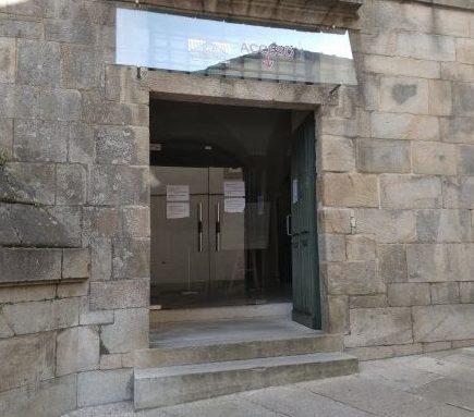 サンマルティンピナリオ教会入り口
