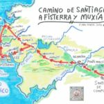 フィステーラ・ムシアの道のマップ