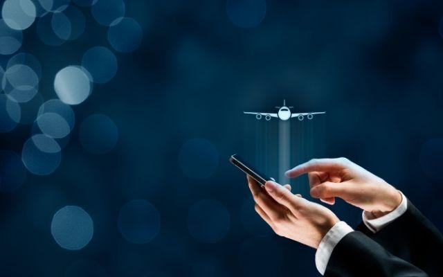 航空会社の携帯アプリ