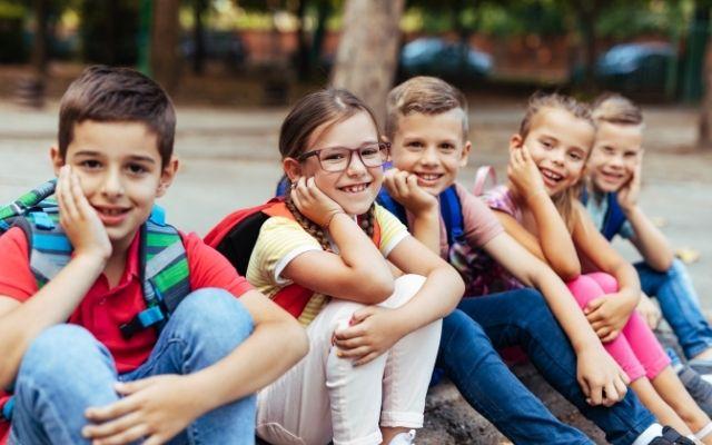 スペインの小学生