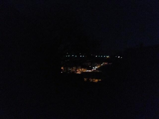 2020年1月11日サンティアゴ朝7時の風景
