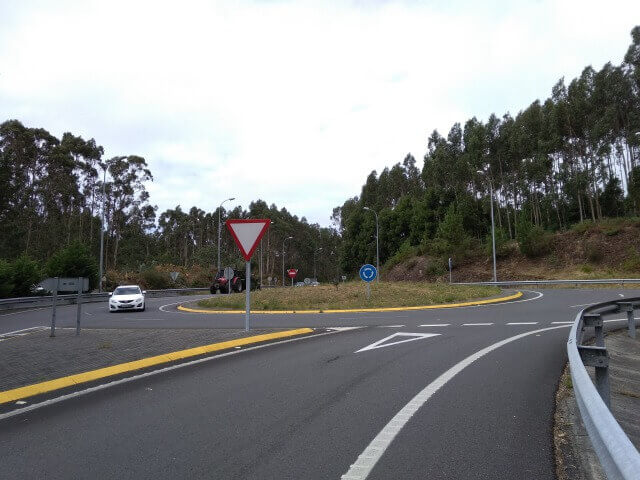 Sardineroの道路