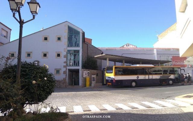 フィステーラのバスステーション
