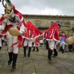 ガリシアのカーニバルのパンタージャス